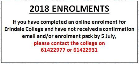 Enrolment Notice