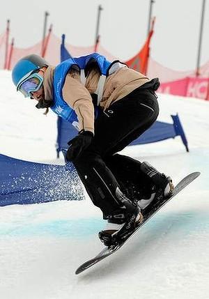 Georgia Baff Snowboarding