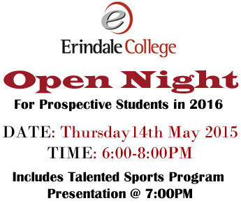 Open Night 14th May 2015