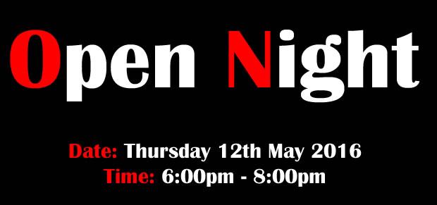 Open Night 2016
