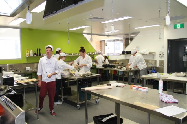 Trade Training Centre- Kitchen