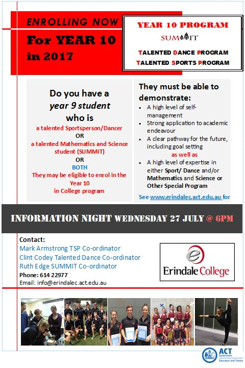Year 10 Information Night 2016 v2
